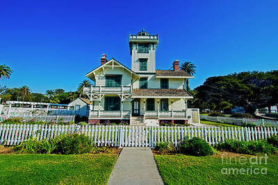 Photograph - Point Fermin Lighthouse by David Arment
