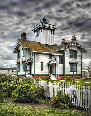 Photograph - Point Fermin Lighthouse by Endre Balogh