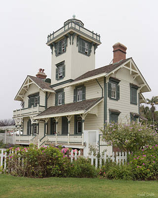 Photograph - Point Fermin Lighthouse by Heidi Smith