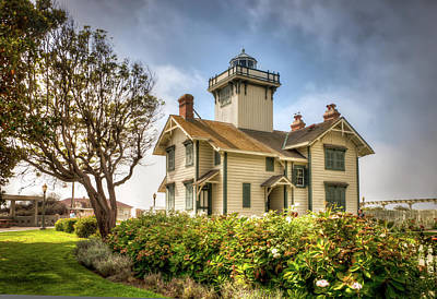 Point Fermin Lighthouse Art Print