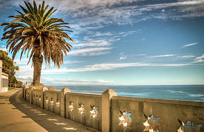 Point Fermin Walkway San Pedro California Art Print