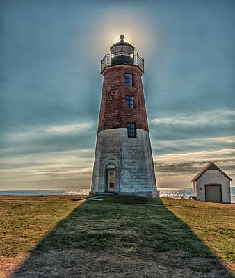 Photograph - Point Judith Light Narragansett Rhode Island by Brian MacLean