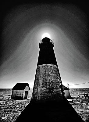 Photograph - Point Judith Lighthouse by Bill Jonscher