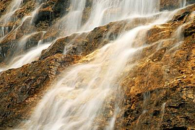 Photograph - Point Lace Falls 2 by Larry Ricker