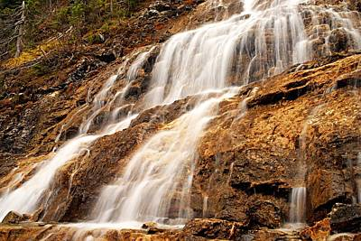 Photograph - Point Lace Falls 3 by Larry Ricker