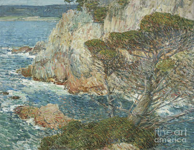 Point Lobos Painting - Point Lobos, Carmel, 1914 by Childe Hassam