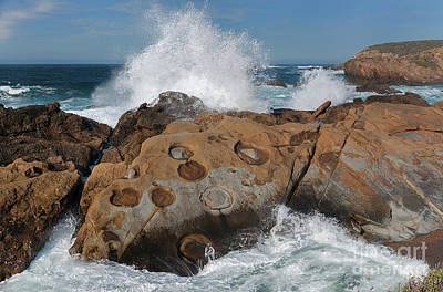 Point Lobos' Concretions Art Print