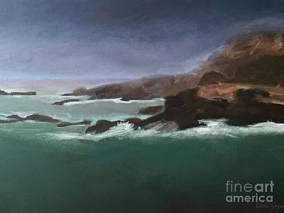 Painting - Point Lobos Monterey by Claire Gagnon