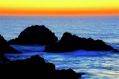 Photograph - Point Lobos Sunset, California by Flying Z Photography by Zayne Diamond