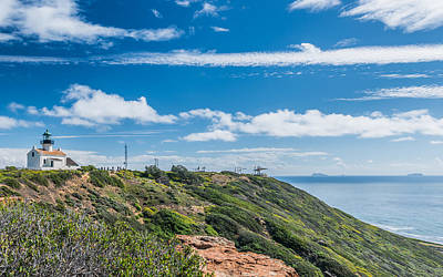 United States Mixed Media - Point Loma And Beyond - California Coast Photograph by Duane Miller