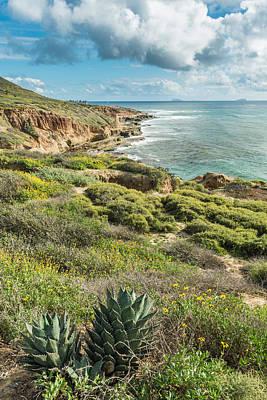 Cloud Photograph - Point Loma Coastline - California Coast Photograph by Duane Miller
