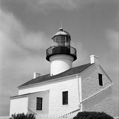 Film Photograph - Point Loma Lighthouse by Tanya Harrison