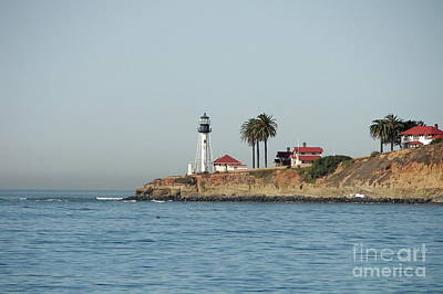 Point Loma Lower Lighthouse Art Print