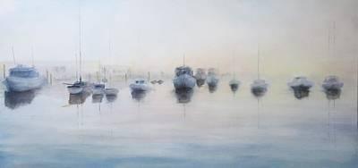 Michael Mcgrath Painting - Point Loma Morning by Michael McGrath