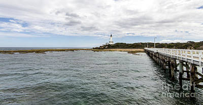 Photograph - Point Lonsdale Panorama by Linda Lees