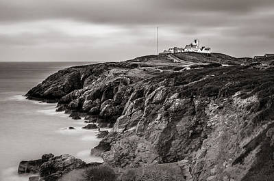Photograph - Point Lynas Lighthouse In Llaneilian On Anglesey by Neil Alexander