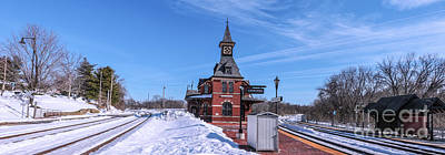 Maryland Photograph - Point Of Rocks Station After A Snow by Thomas Marchessault
