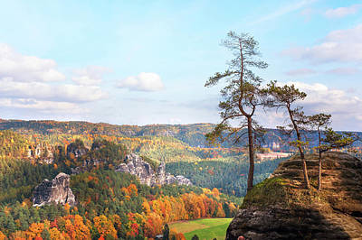 Photograph - Point Of View. Saxon Switzerland by Jenny Rainbow
