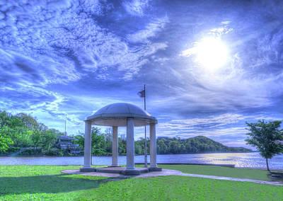 Parkersburg Wv Photograph - Point Park Gazebo by Deborah Lorentz