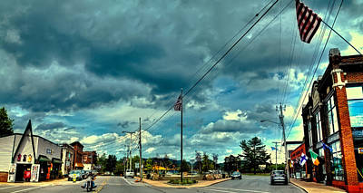 Photograph - Point Park In Old Forge Ny by David Patterson