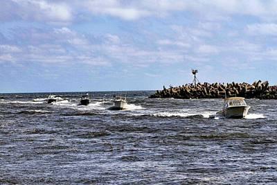 Trawler Digital Art - Point Pleasant New Jersey by Geraldine Scull
