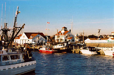 Photograph - Point Pleasant Nj Marina by Steve Karol