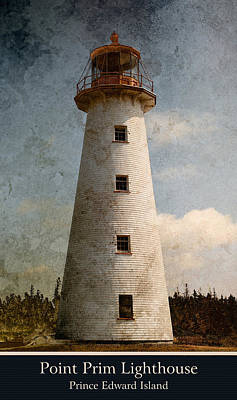 Photograph - Point Prim Lighthouse 3 by WB Johnston
