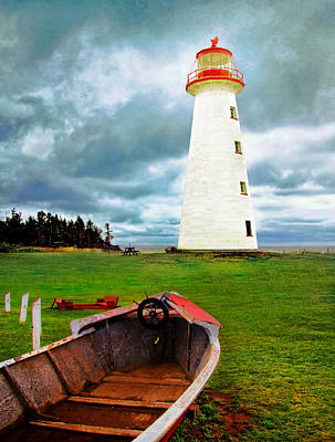 Photograph - Point Prim Lighthouse by Carolyn Derstine