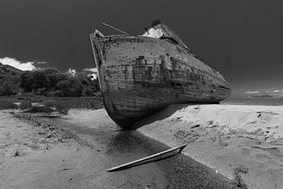Point Reyes Boat Art Print