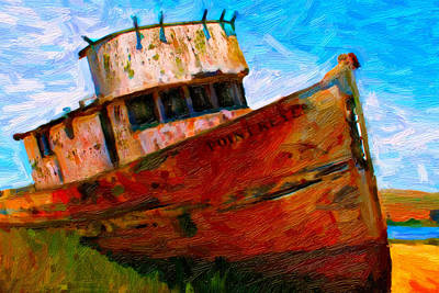 Point Reyes Art Print