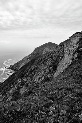 Photograph - Point Reyes II Bw by David Gordon
