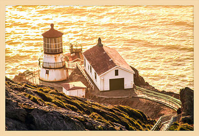 Photograph - Point Reyes Lighthouse 2 by Bonnie Follett