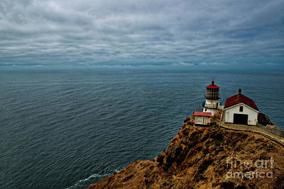 Photograph - Point Reyes Lighthouse by David Arment