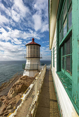 Photograph - Point Reyes Lighthouse by Donnie Whitaker