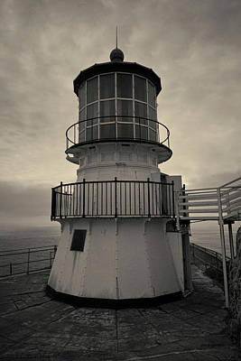Photograph - Point Reyes Lighthouse I Toned by David Gordon