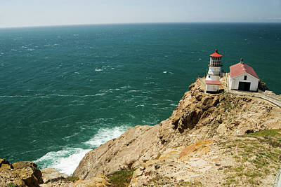 Photograph - Point Reyes Lighthouse by Renee Hong