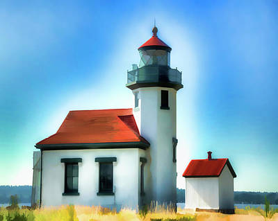 Point Robinson Lighthouse Art Print