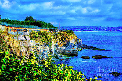 Photograph - Point Rock Rhode Island by Rick Bragan