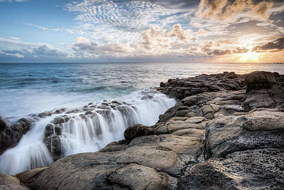 Photograph - Point Ross Sunset by Brad Grove