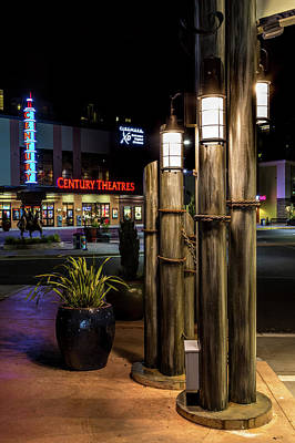 Photograph - Point Ruston Lamps by Rob Green