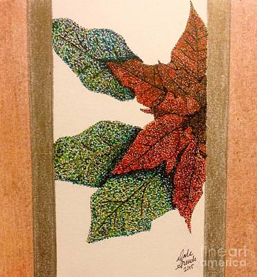 Point-settia Art Print by Dale Arends