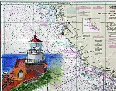 Point Sur Light Station Art Print