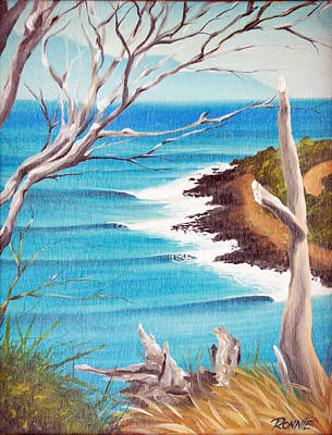 Painting - Point Surf by Ronnie Jackson
