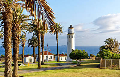 Photograph - Point Vicente Lighthouse by Michael Hope
