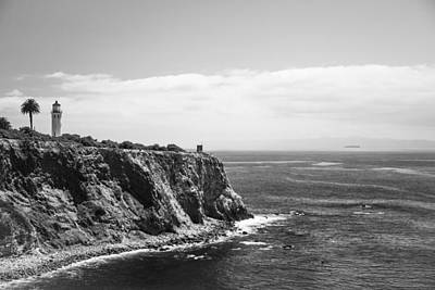 Point Vicente Lighthouse Print by Ralf Kaiser
