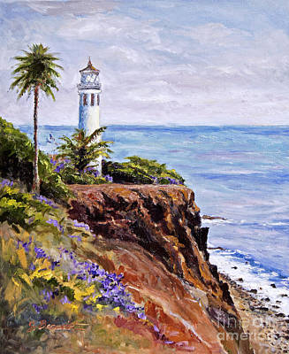 Point Vicente Palos Verdes Art Print