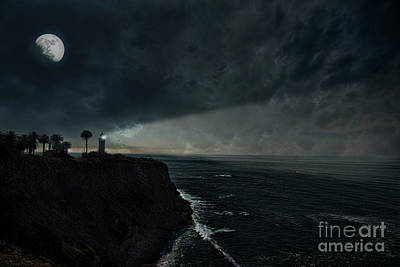 Photograph - Point Vincent Lighthouse by David Arment