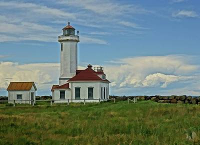 Photograph - Point Wilson Lighthouse by Dan Sproul
