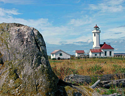 Photograph - Point Wilson Lighthouse by Frank Winters