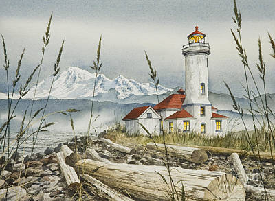 Point Wilson Lighthouse Art Print